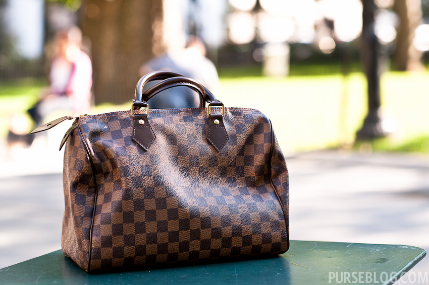 85b9575cdf5c The Greatest Purse in the World- the Louis Vuitton Speedy 30 Satchel ...